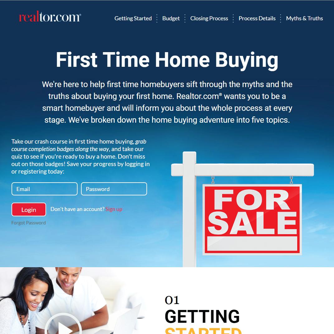 First Time Homebuyer Program